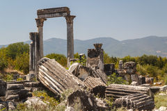 Ruins of the ancient city of Aphrodisias Royalty Free Stock Image