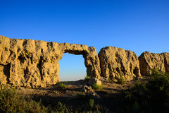 The ruins of the ancient city Stock Image
