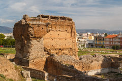 Ruins of the ancient city of Argos. Peloponnese, Greece Stock Photography