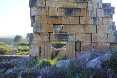 Ruins of Ancient City of Biblical Kedesh in Israel Royalty Free Stock Image