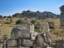 Ruins of the ancient city Royalty Free Stock Photography