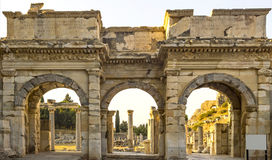 Ruins of the ancient city Royalty Free Stock Photos