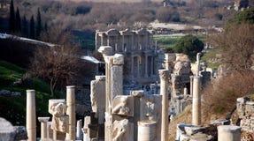 Ephesus. Ruins of ancient city Ephesus near Izmir, Turkey Stock Photography