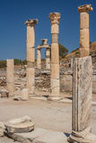 Ruins of the ancient city of Ephesus Royalty Free Stock Image
