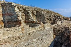 Ruins of ancient city Heraclea Sintica - built by Philip II of Macedon, Bulgaria Stock Photo