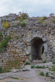 The ruins of the ancient city of Hersonissos. Crimea Stock Photos