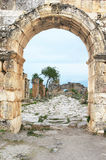 Ruins of the ancient city of Hierapolis Stock Photos