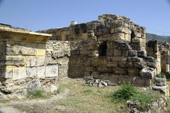 The ruins of the ancient city of Hierapolis in Turkey Stock Photo