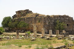 The ruins of the ancient city of Hierapolis in Turkey Royalty Free Stock Photo
