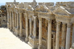 The ruins of the ancient city of Hierapolis in Turkey Stock Image