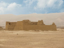 Ruins ancient city of Jiaohe in China Royalty Free Stock Photos
