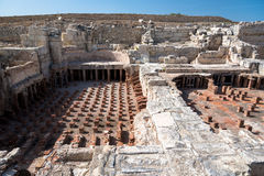 Ruins of ancient city, Kourion, Cyprus Stock Photography