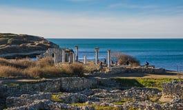 Ruins of ancient city Royalty Free Stock Photo