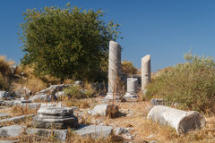 Ruins of the ancient city of Miletus Royalty Free Stock Image