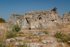 Ruins of the ancient city of Miletus Stock Images
