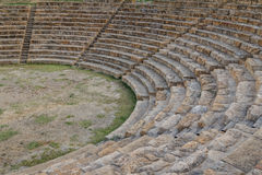 Ruins of the ancient city of Morgantina, Sicily island Royalty Free Stock Images