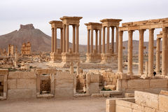 Ruins of ancient city of Palmyra - Syria Stock Images