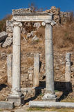Ruins of the ancient city of Perge Royalty Free Stock Image