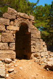 The ruins of the ancient city of Phaselis Stock Photo