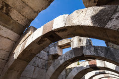 Ruins of Ancient city Smyrna. Izmir, Turkey Stock Photography