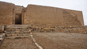The ruins of the ancient civilization of Wari, near Ayacucho in Stock Images