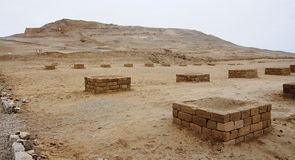 The ruins of the ancient civilization of Wari, near Ayacucho in Stock Photos