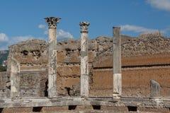 Ruins of the ancient complex of Hadrian Villa, Tivoli Stock Photo