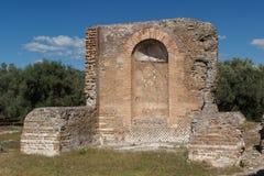 Ruins of the ancient complex of Hadrian Villa, Tivoli Stock Photography
