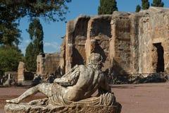 Ruins of the ancient complex of Hadrian Villa, Tivoli Stock Photos