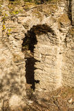 Ruins of ancient convent near Corsoli in Corsica Royalty Free Stock Images