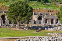 Ruins of ancient Ephesus Royalty Free Stock Photo
