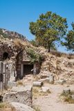 Ruins of the ancient Ephesus. Selcuk in Izmir Province. Turkey Royalty Free Stock Images