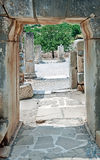 Ruins of ancient Ephesus in Turkey Stock Images