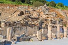 Ruins of ancient Ephesus Turkey Stock Photography