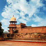 Ruins of an ancient fort. India, Agra Stock Photo