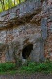 Ruins of ancient fort Tarakanov Royalty Free Stock Photography