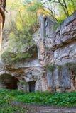 Ruins of ancient fort Tarakanov Royalty Free Stock Photo