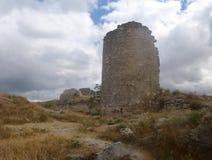 Ruins of the ancient fortress Calamita Royalty Free Stock Photo