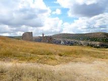 Ruins of the ancient fortress Calamita in Inkerman Stock Photos