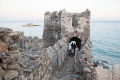 Ruins of Ancient Fortress Stock Images