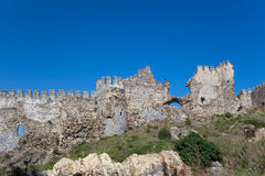 Ruins of Ancient Fortress Royalty Free Stock Images