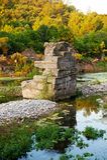 Ruins of ancient Greek royalty free stock photo