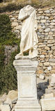 Ruins of the ancient Greek city Ephesus Royalty Free Stock Photography
