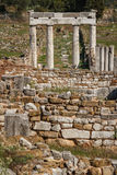 Ruins of the ancient Greek city of Messinia & x28;Messini, Messenia& x29;. Ruins of the ancient Greek city of Messinia & x28;Messini, Messenia& x29 Stock Photos