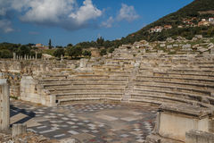 Ruins of the ancient Greek city of Messinia & x28;Messini, Messenia& x29;. Ruins of the ancient Greek city of Messinia & x28;Messini, Messenia& x29 Stock Image