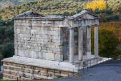 Ruins of the ancient Greek city of Messinia Messini, Messenia Royalty Free Stock Photos