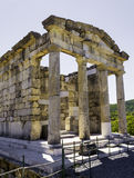 Ruins of the ancient Greek city of Messinia, Peloponnese, Greece. Ruins of the ancient Greek city of Messinia at Peloponnese, Greece Royalty Free Stock Photography