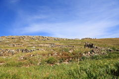 Ruins of ancient Hierapolis Royalty Free Stock Photos