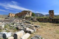 Ruins of ancient Hierapolis Royalty Free Stock Image