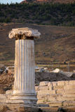 Ruins of ancient Hierapolis, Pamukkale. Turkey Stock Image